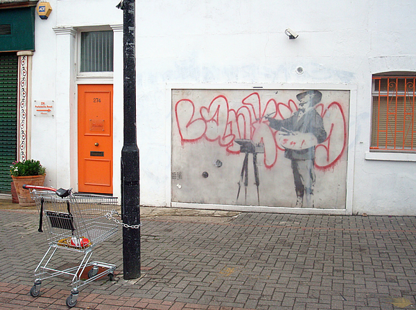 Banksy, Porto Bello. London.