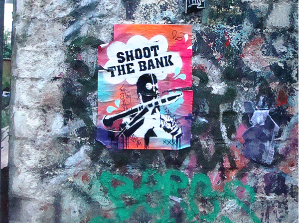 SHOOT THE BANK LONDON