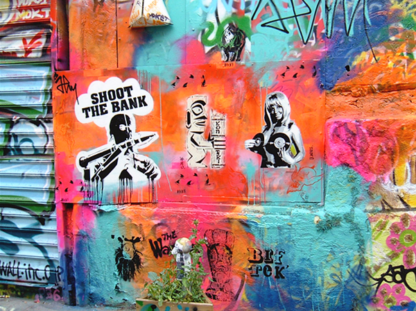 Shoot The Bank,  Lord Hao,  Yarps,  Pedro pochoirs